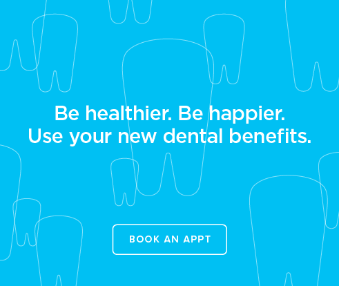Be Heathier, Be Happier. Use your new dental benefits. - Nut Tree Smiles Dentistry
